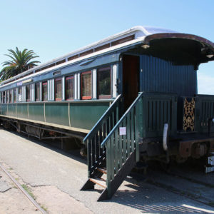 Der Santos Express in Mossel Bay