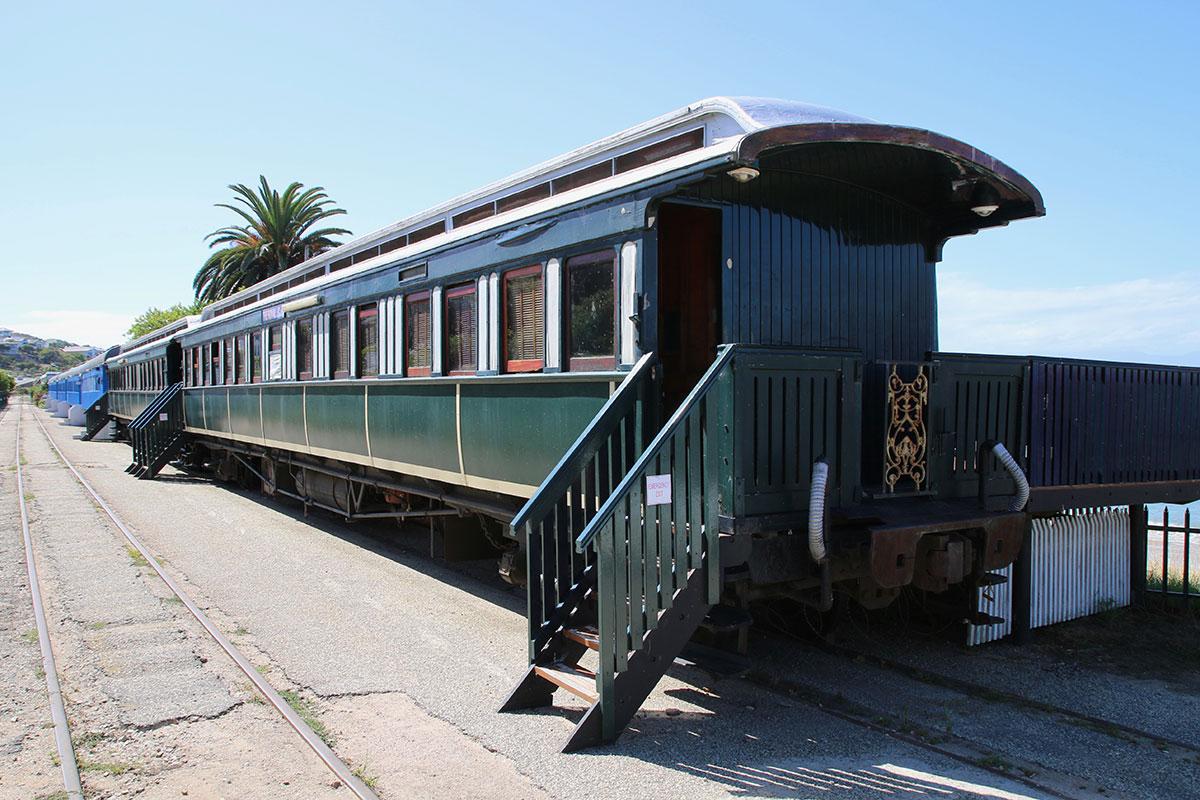 Der Santos Express in Mossel Bay