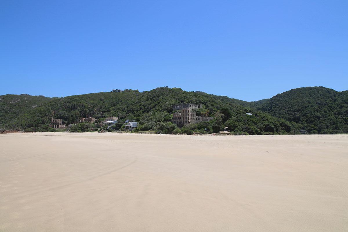 Viel Strand - wenig Menschen