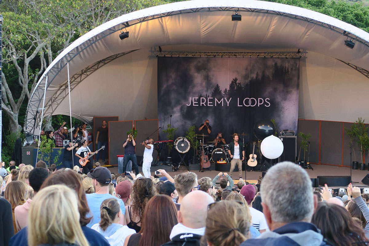 Jeremy Loops in Kirstenbosch