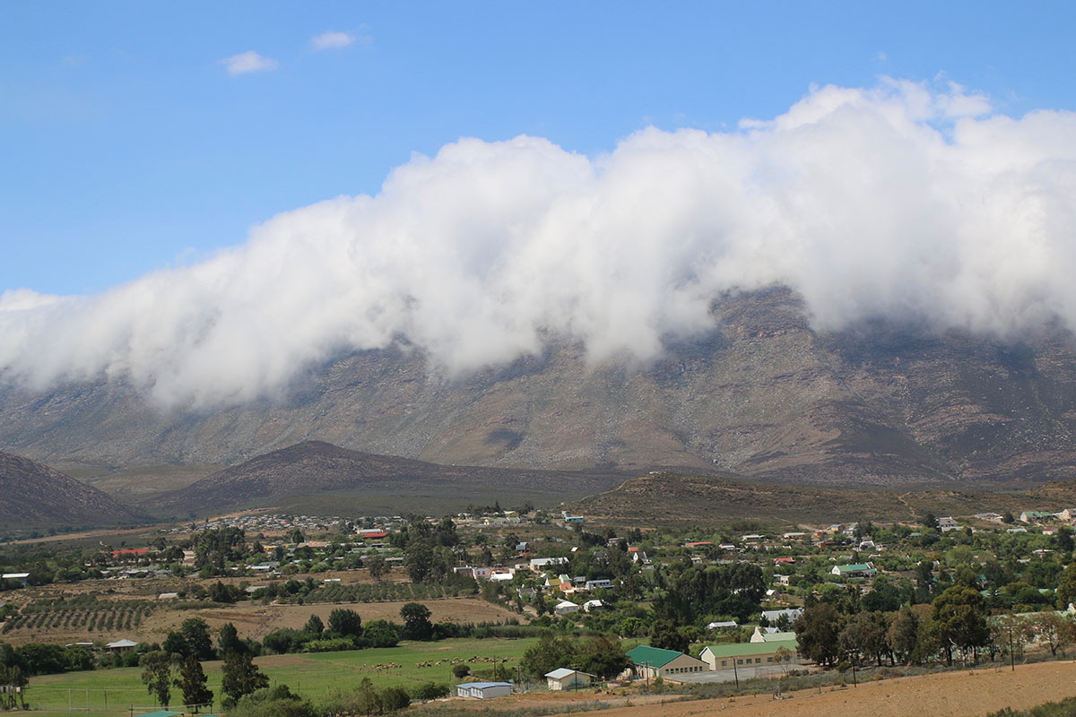 Ohne die Wolken wäre dieses Foto eher nichts sagend