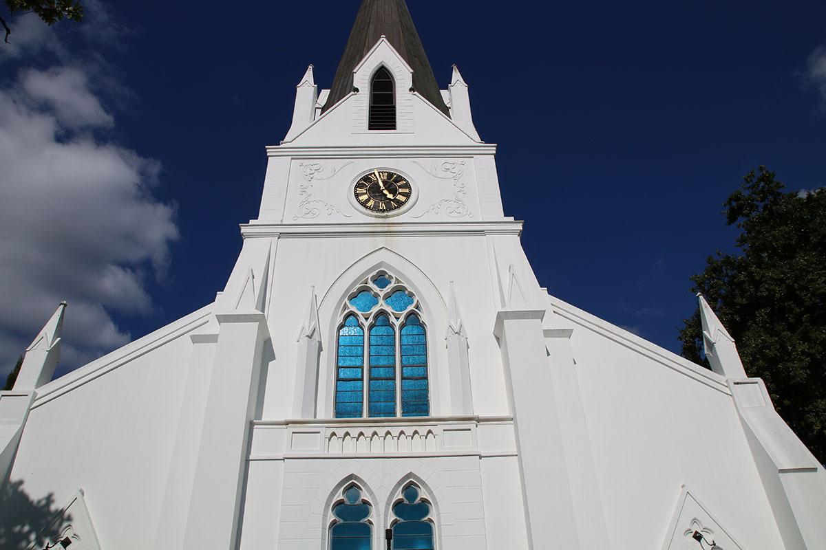 The Dutch Reform Church Stellenbosch