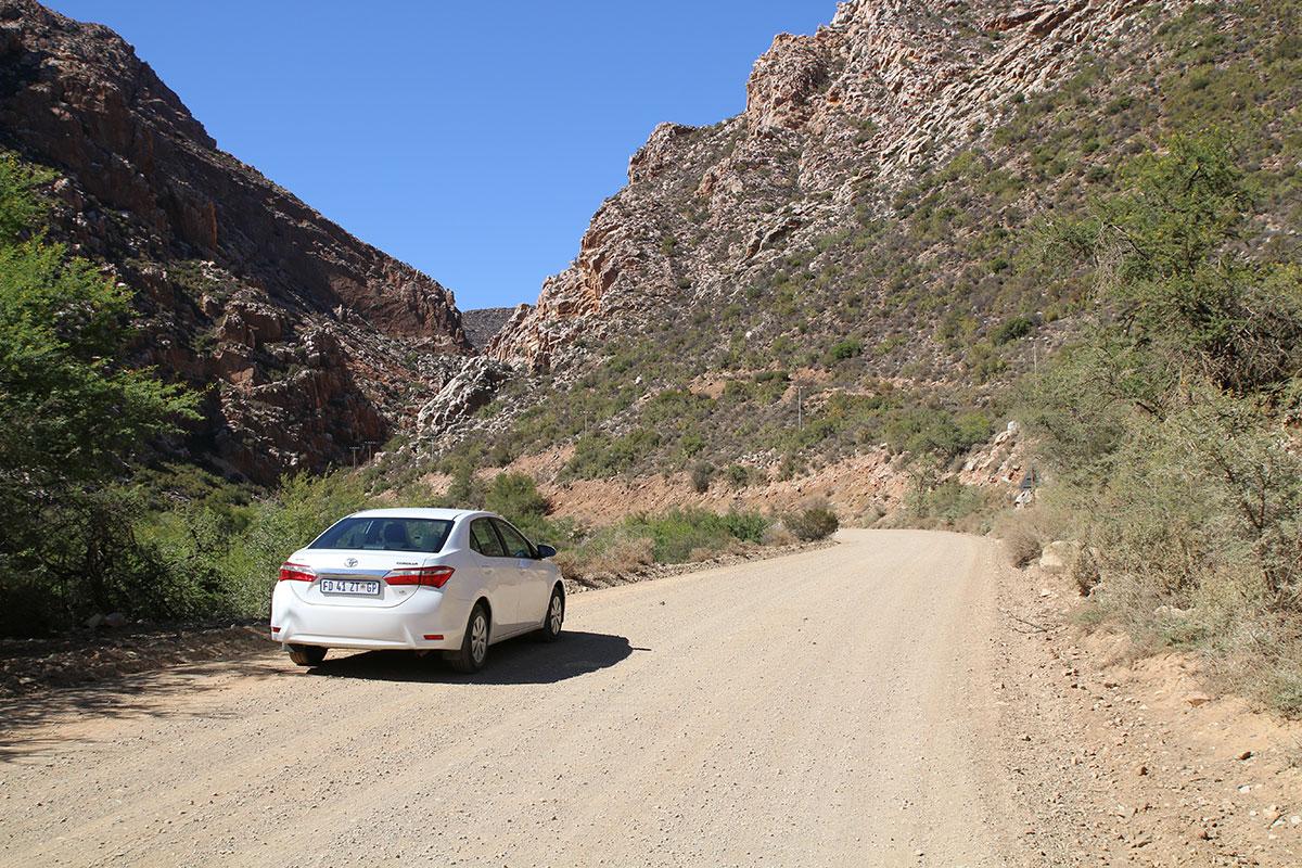 Die Einfahrt zum Swartbergpass