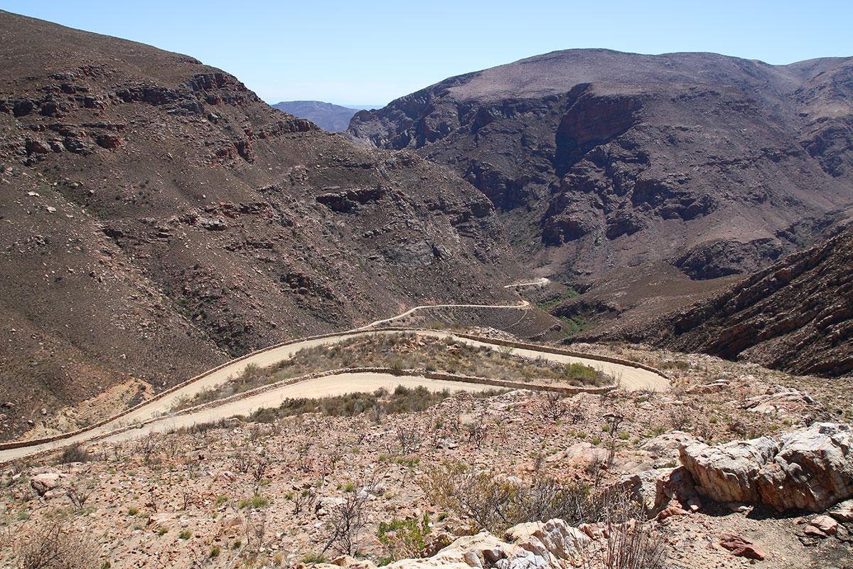 Irgendwie gibt es immer einen Weg durch die Berge