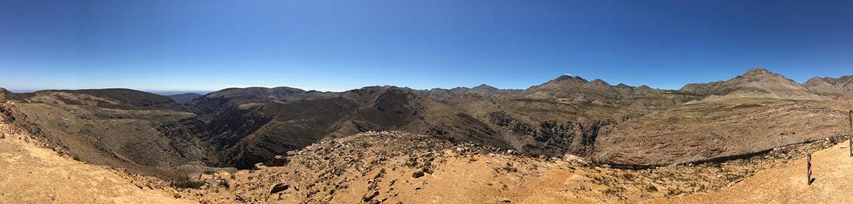 Swartpergpass Panorama
