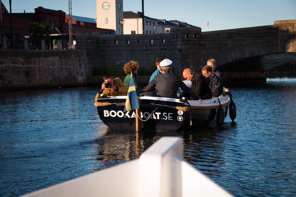 Ganz neues Erlebnis - Elektroboot-Fahrt