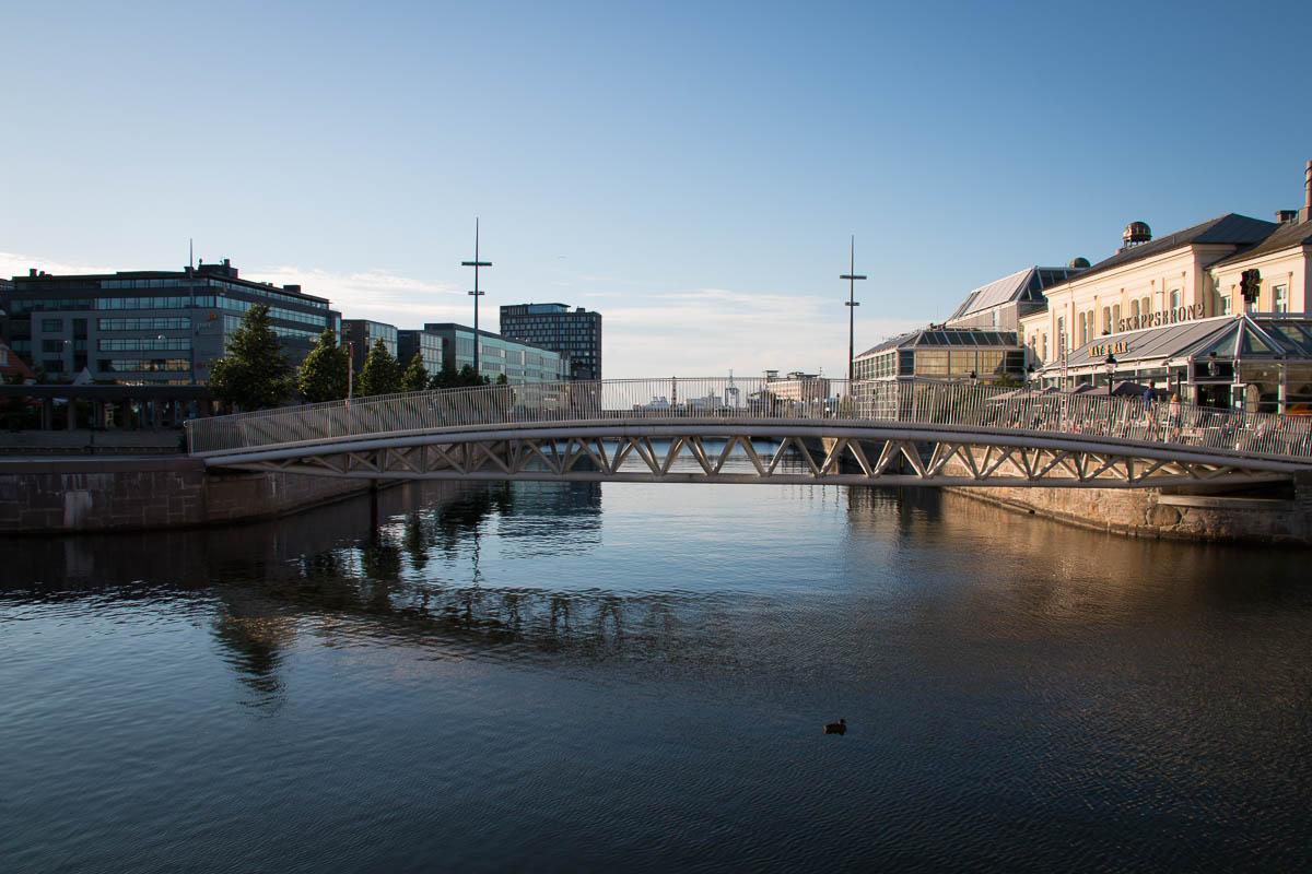 Auf Malmös Kanälen
