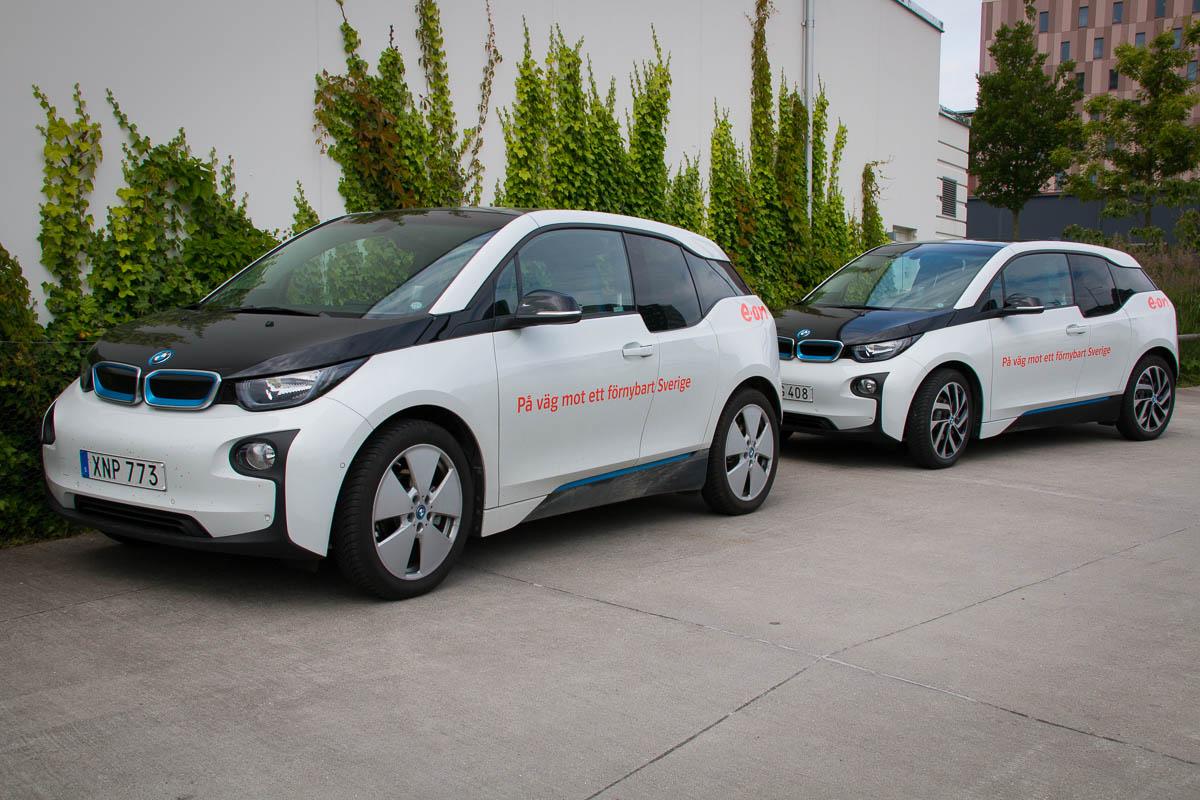 Die Elektro BMWs von E.ON