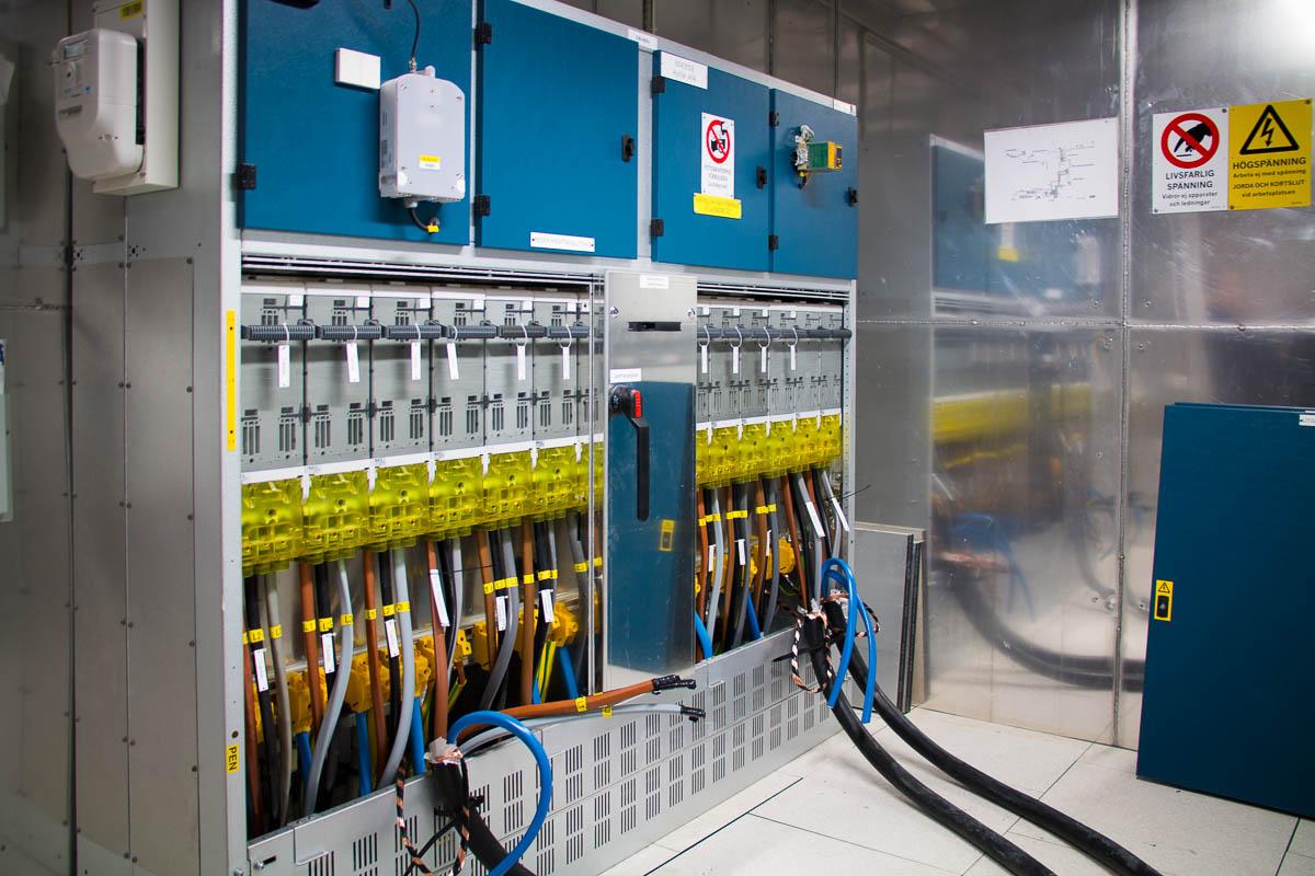 Dezentrale Stromversorgung in Hyllie
