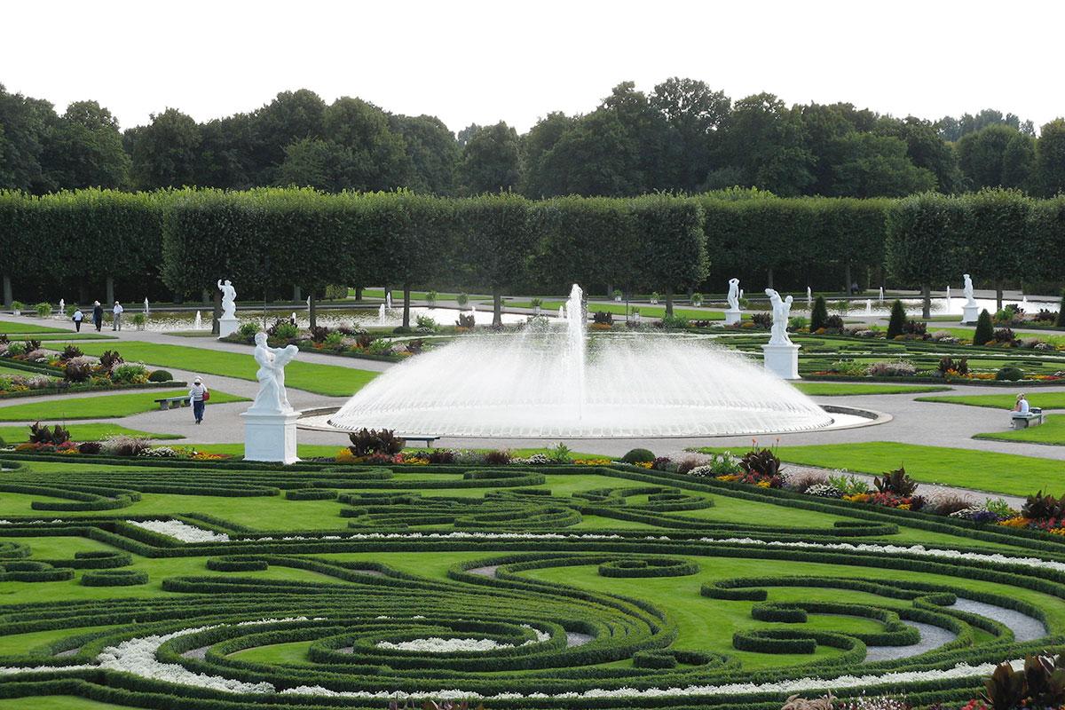 Der Große Garten in Herrenhausen