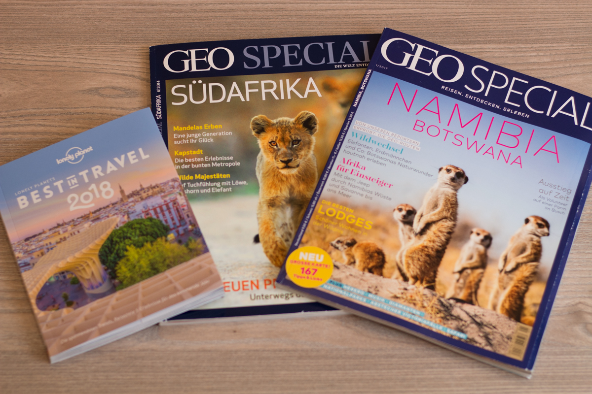 Lonely Planet und Geo Special