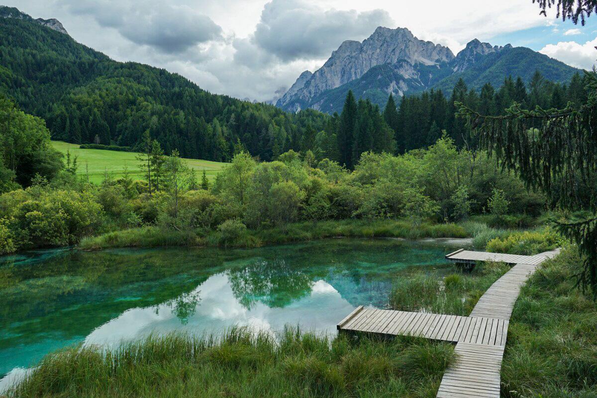 Slowenien - Die Quelle der Sava, Sloweniens größtem Fluss