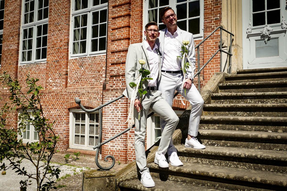 Hochzeit in Sneakers