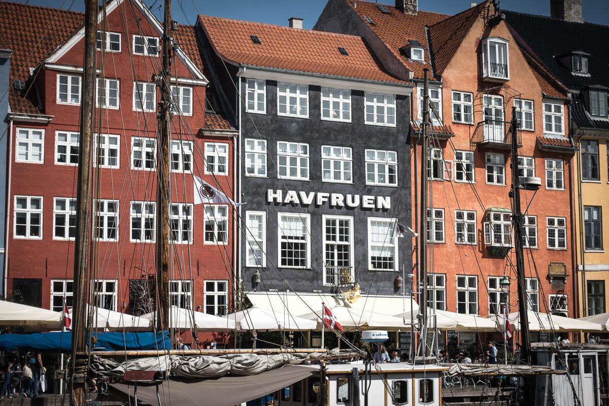 Nyhavn - Lecker essen und flanieren