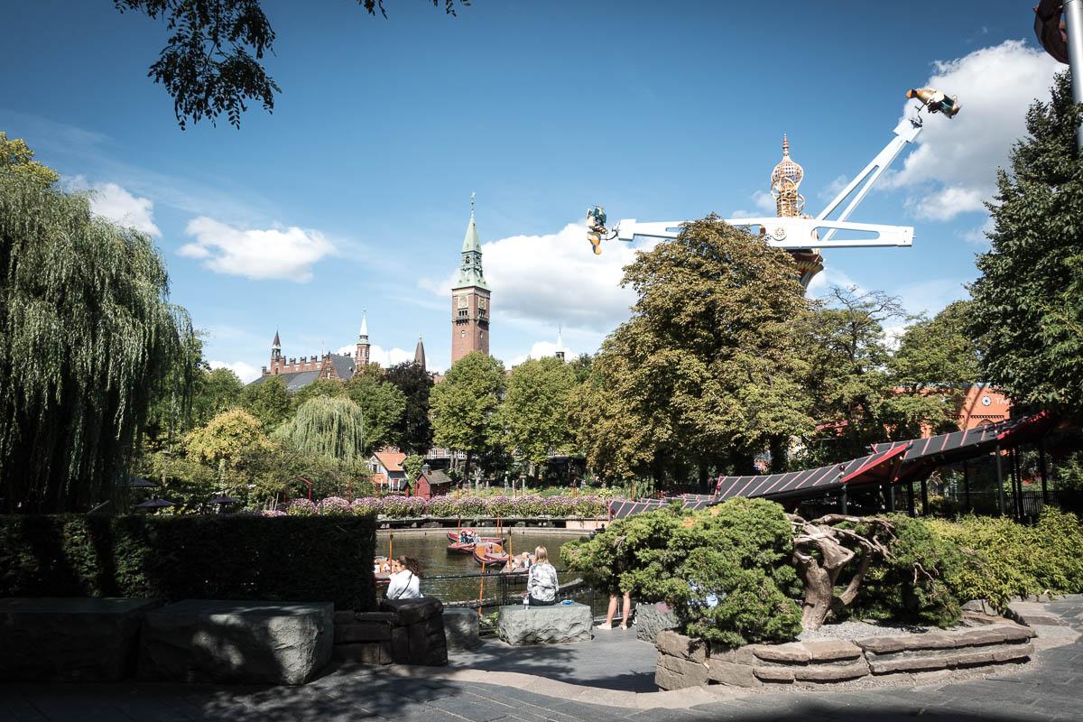 Entspannung und Aktion - beides erwartet dich im Tivoli Kopenhagen