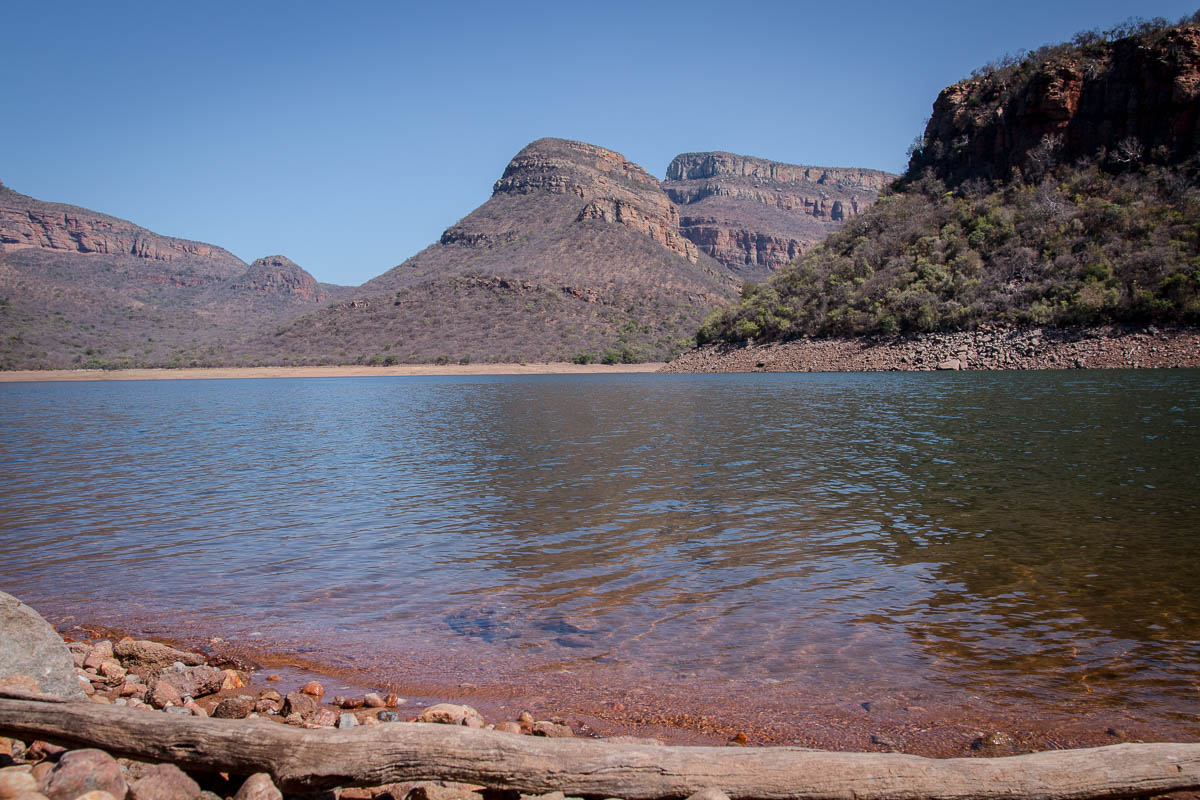 Blyde River Canyon - Blydepoort Dam