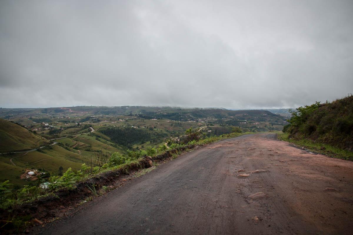 70 Km bei Regen verlangen von Fahrer und Fahrzeug Einiges ab