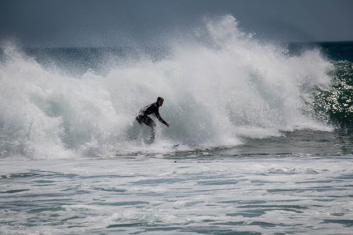 Surfer in Kommetjie