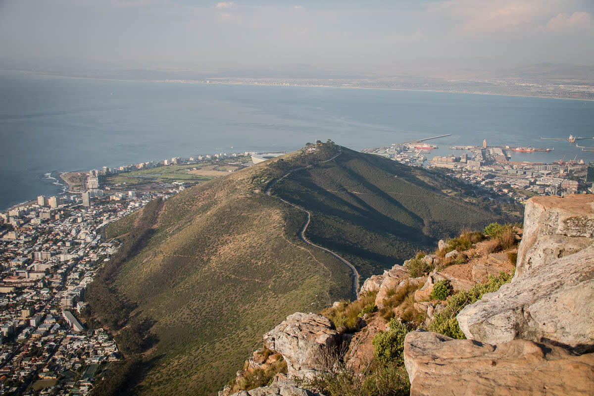 Signal Hill vom Lions Head