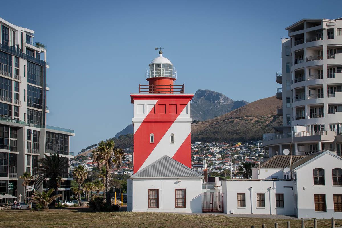 Der Leuchtturm von Sea Point
