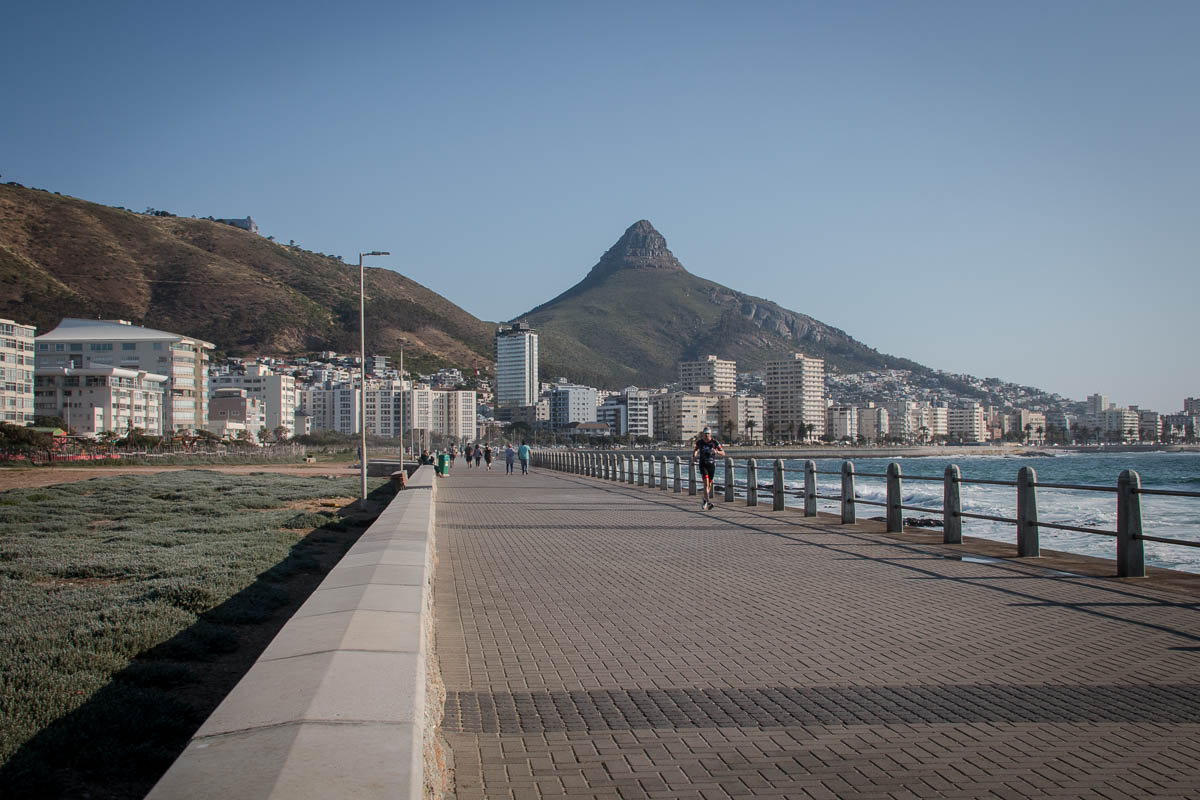 Die Promenade von Sea Point
