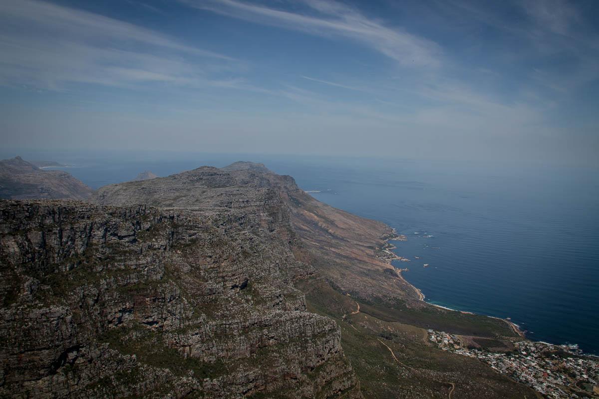Die 12 Apostel vom Tafelberg aus gesehen