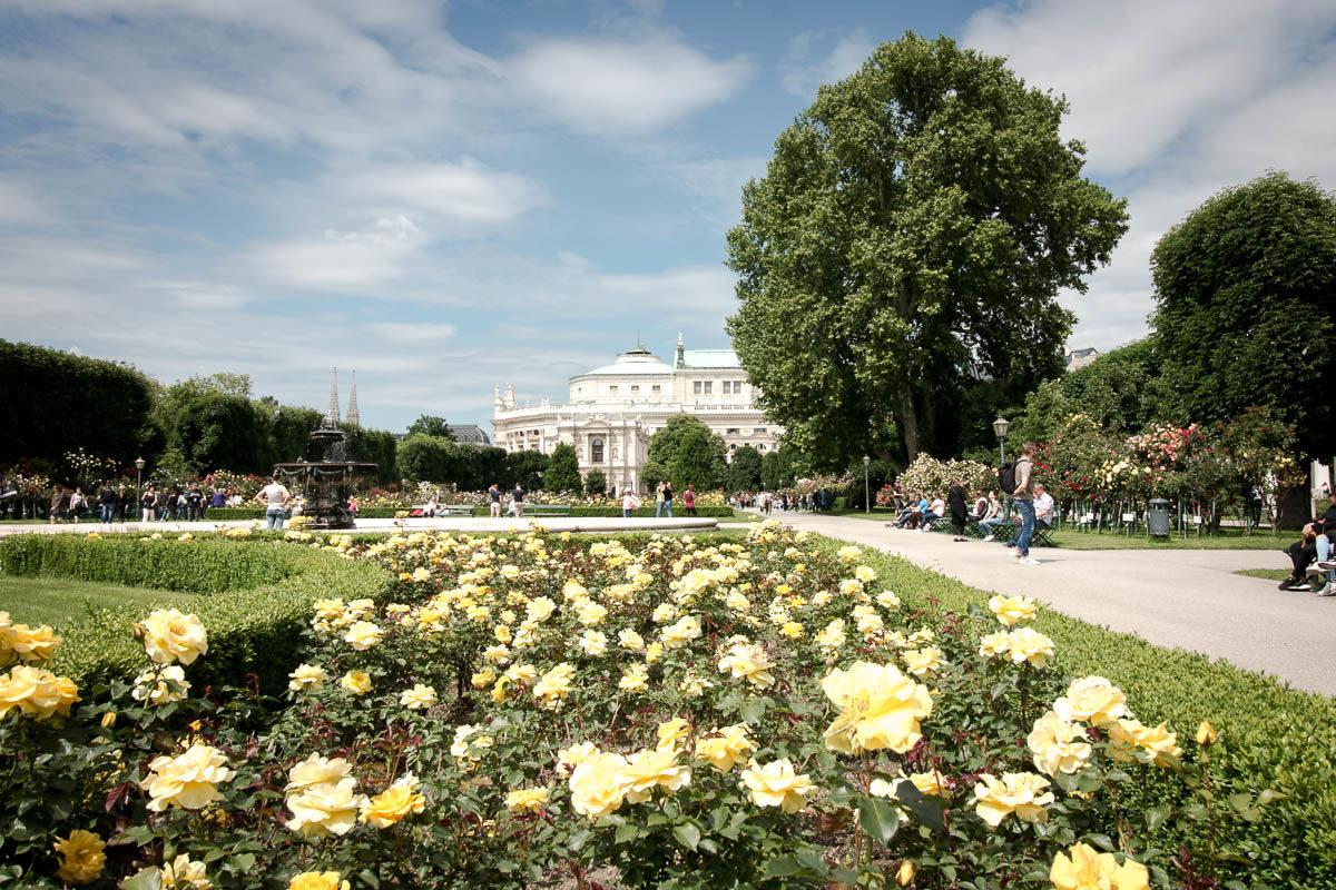 Der Volksgarten in Wien