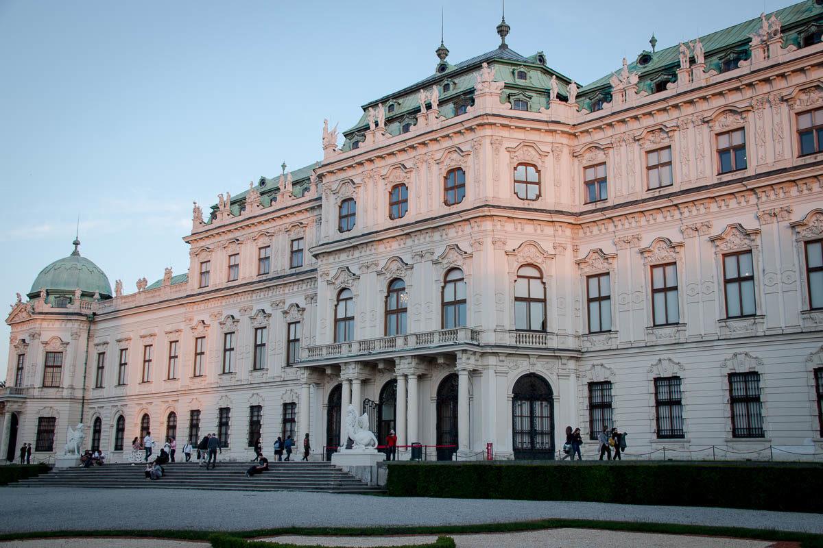 Schloss Belvedere im 3. Bezirk