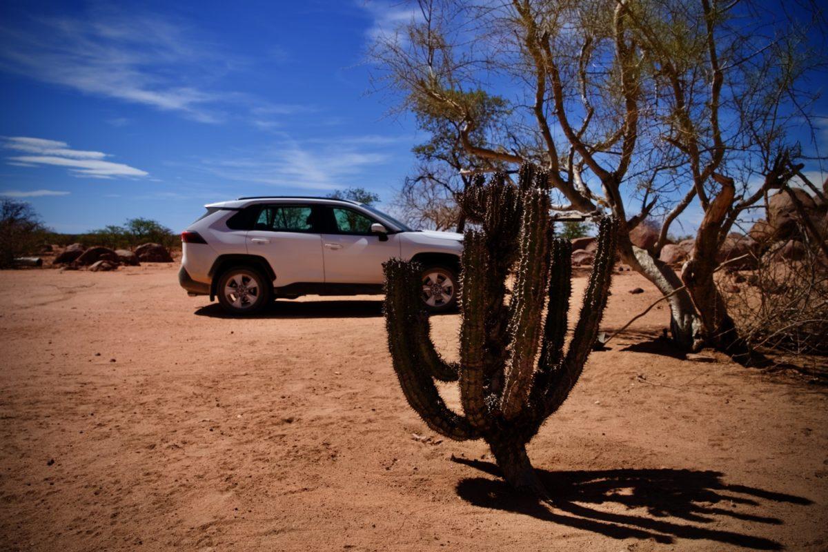 Namibia ist oft sehr einsam