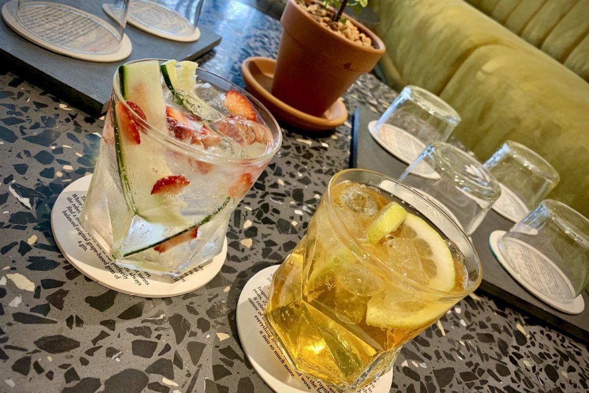 Gin Tasting in der Woodstock Gin Company