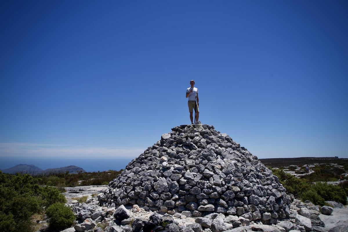 Der Höchste Punkt des Tafelberges