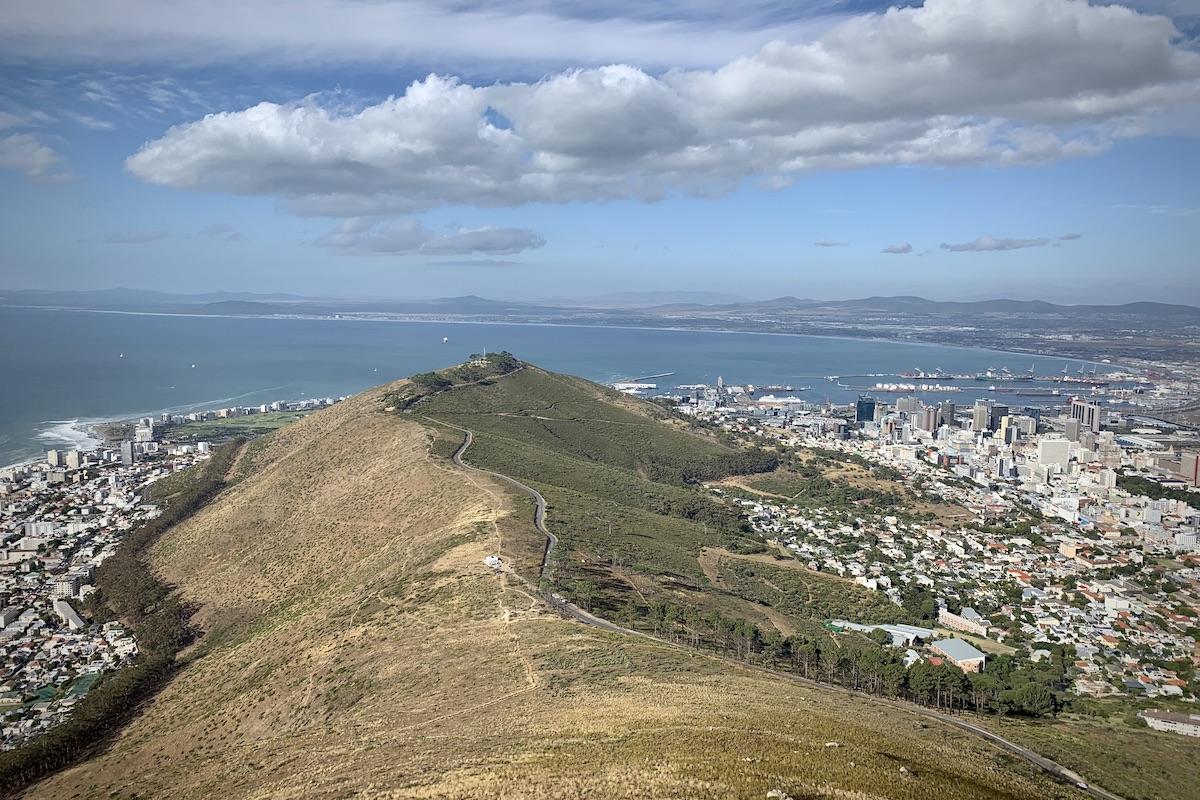 Kapstadt und der Signal Hill.