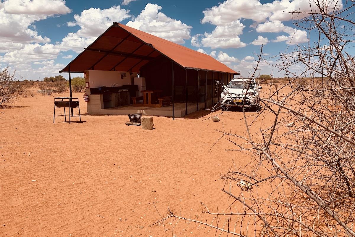 Weihnachten in der Kalahari Wüste