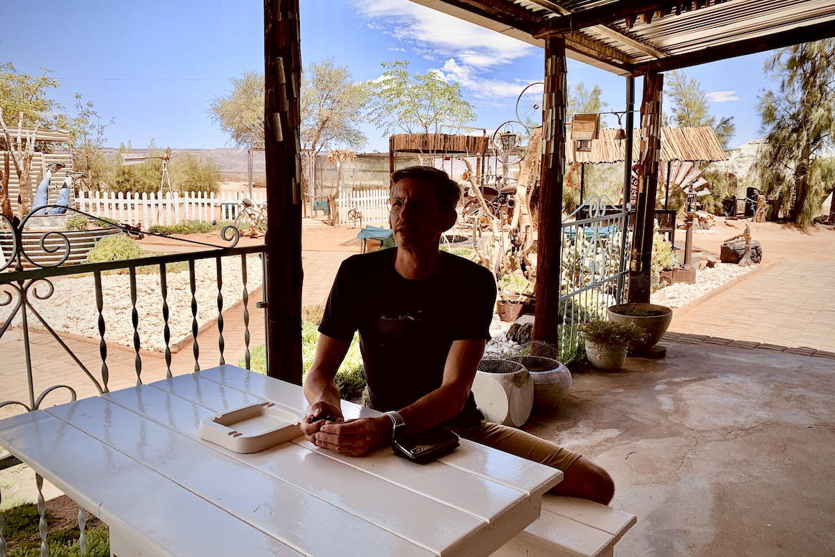 Namibia Canyon Farm Yard Coffee Shop