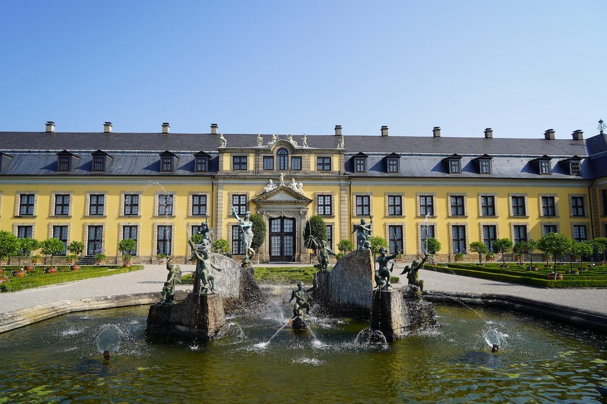 Wasserspiele in den Herrenhäuser Gärten