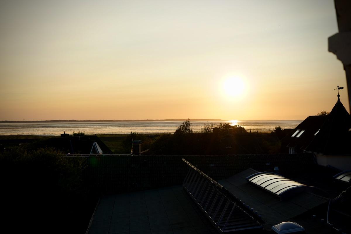Sonnenaufgang überm Jordsand