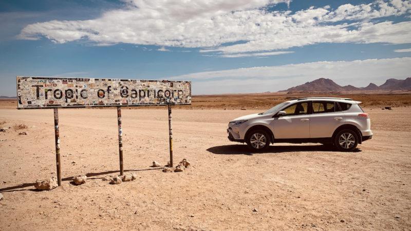 Tropic of Capricorn Namibia