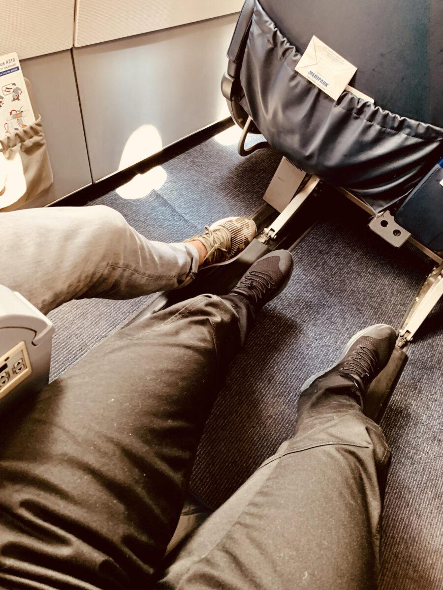 Beinfreiheit Air Namibia